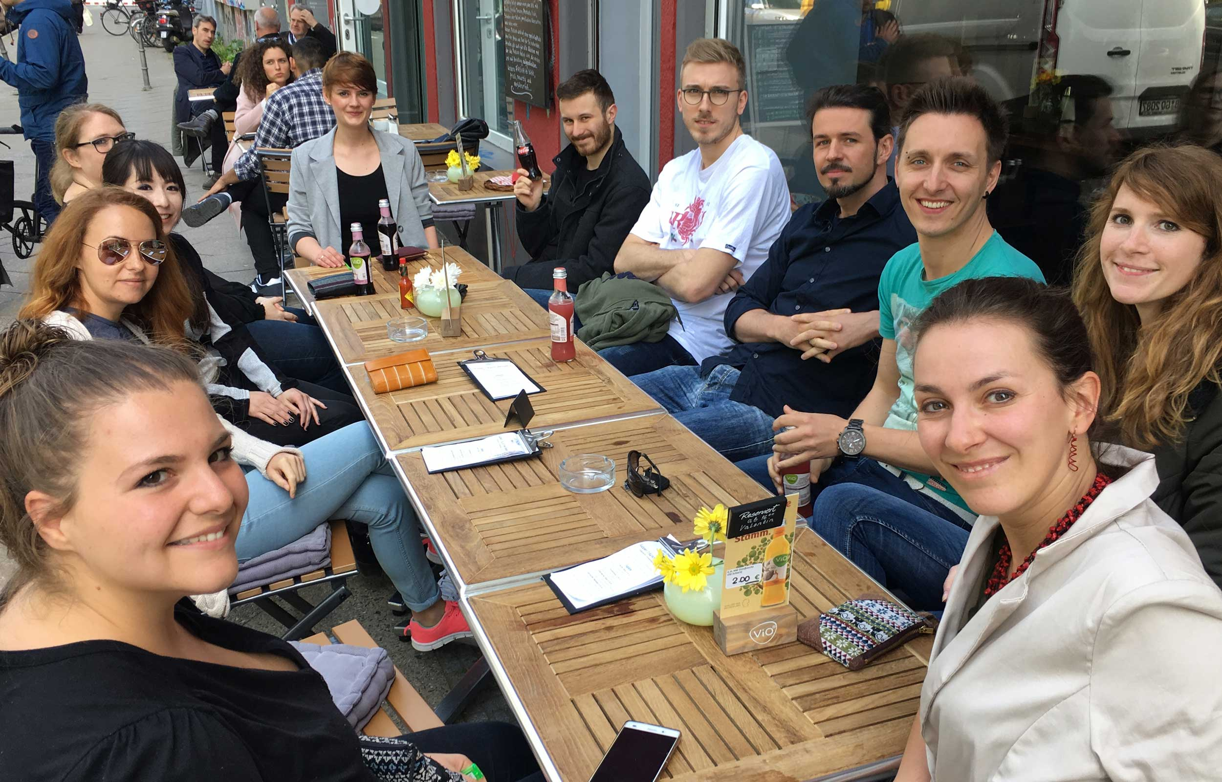 interim Group Team beim Schlemmadvisor-Lunch